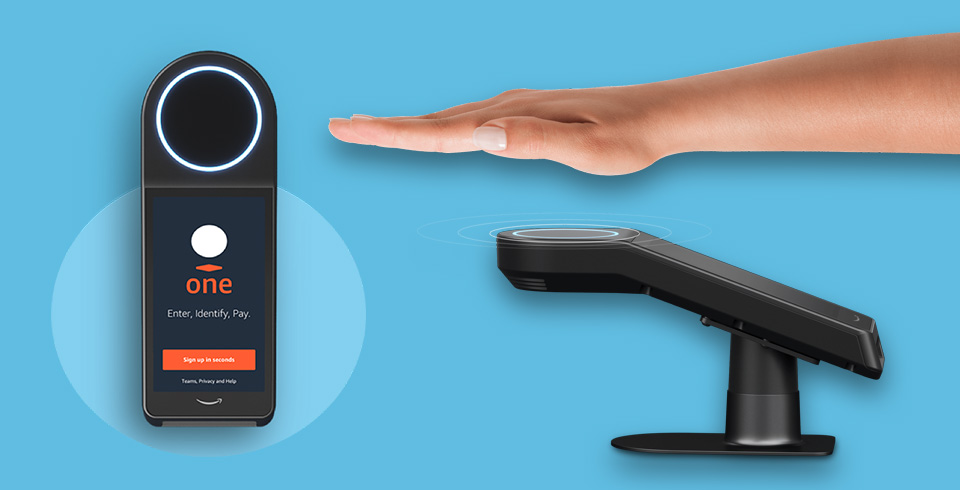 Amazon One Palm-Scanning Payments