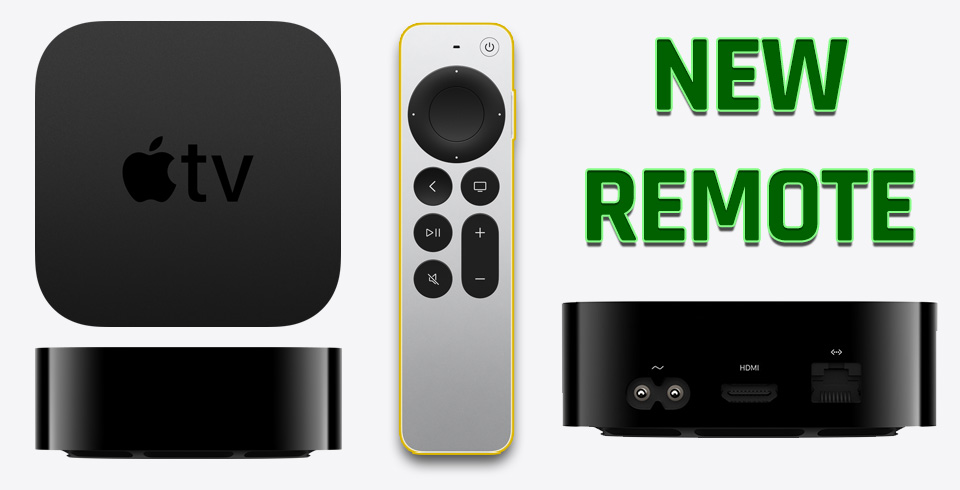 Apple TV 4K With New Remote