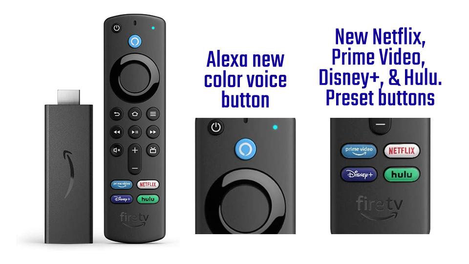 Fire TV New Alexa Voice Remote (3rd Gen)